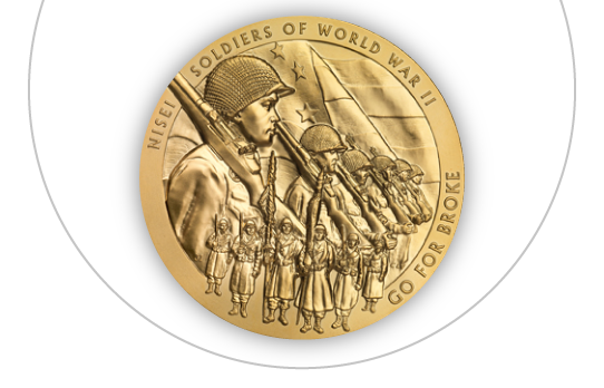 The Nisei Soldier Congressional Gold Medal